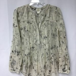 Anthropologie/Maeve blouse size 6